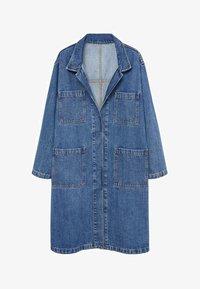 Violeta by Mango - Classic coat - mittelblau - 4
