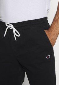 Champion - ROCHESTER CUFF PANTS - Kalhoty - black - 4