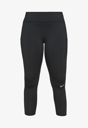 EPIC PLUS - Leggings - black/silver