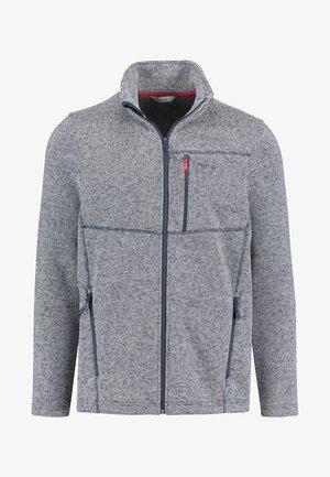 BERGEN - Fleece jacket - navy