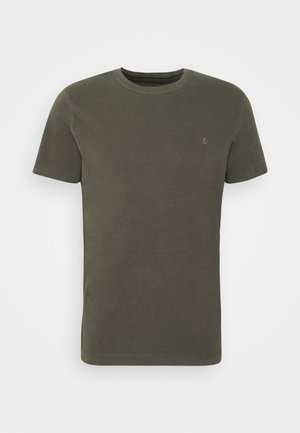 JJEWASHED TEE O NECK - Basic T-shirt - forest night