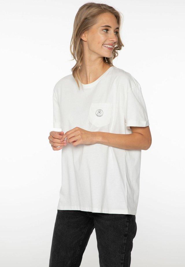 ADA - Jednoduché triko - seashell