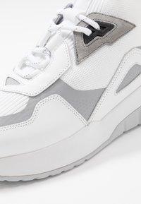 HUGO - ATOM - Zapatillas altas - white - 5