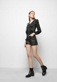 maje - LIFFANY - Long sleeved top - noir - 3