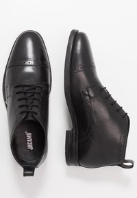 Jacamo - BROGUE DETAIL  - Lace-ups - black