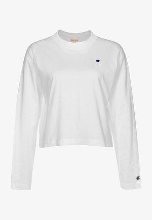CREWNECK - Long sleeved top - wht
