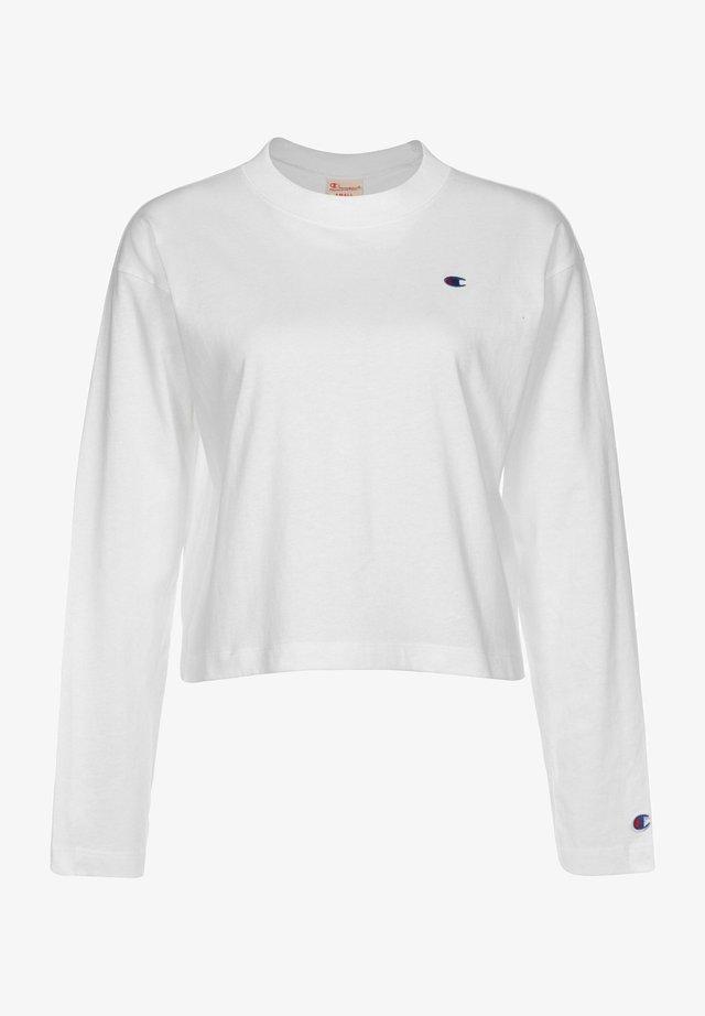 CREWNECK - T-shirt à manches longues - wht