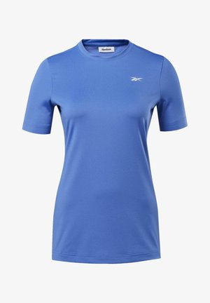 WORKOUT READY SUPREMIUM TEE - Basic T-shirt - blue