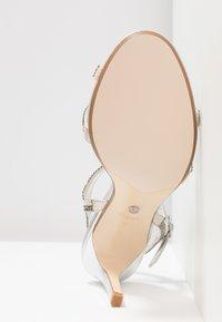 Dune London WIDE FIT - WIDE FIT MAGDALENA - Højhælede sandaletter / Højhælede sandaler - silver - 6