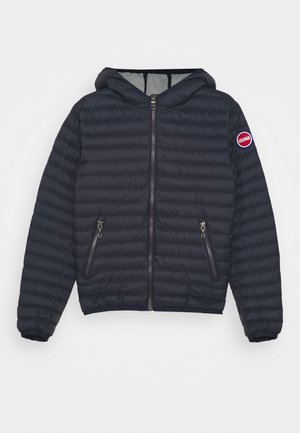 REPUNK UNISEX - Down jacket - navy blue/light steel