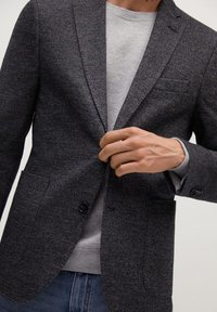 Mango - AUS WOLLE-BAUMWOLL-MIX - Blazer jacket - grau - 3