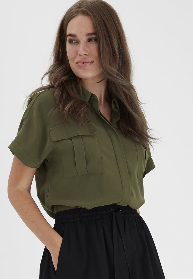 DRLARCY  - Button-down blouse - cypress