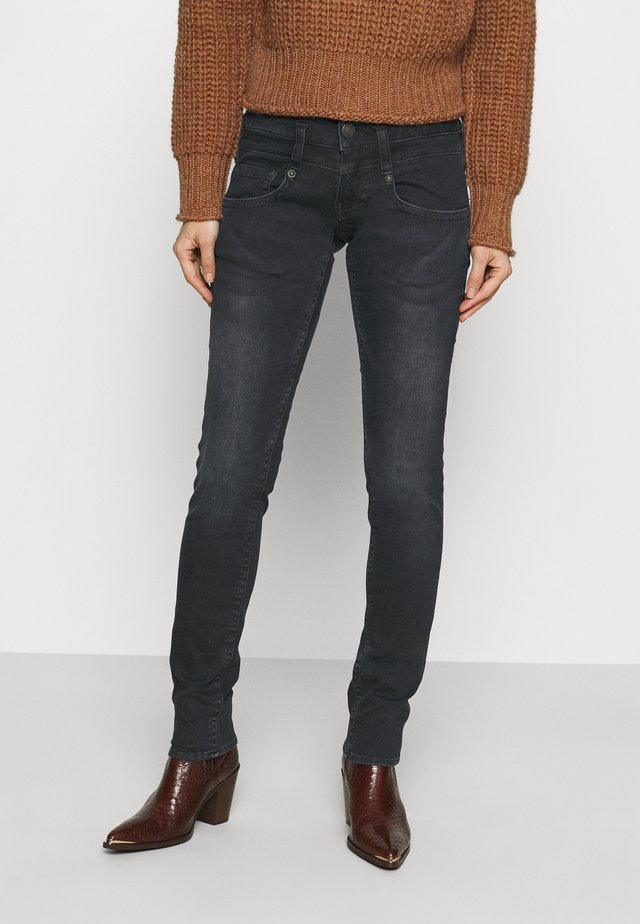 PITCH SLIM REUSED  - Jeans slim fit - crow