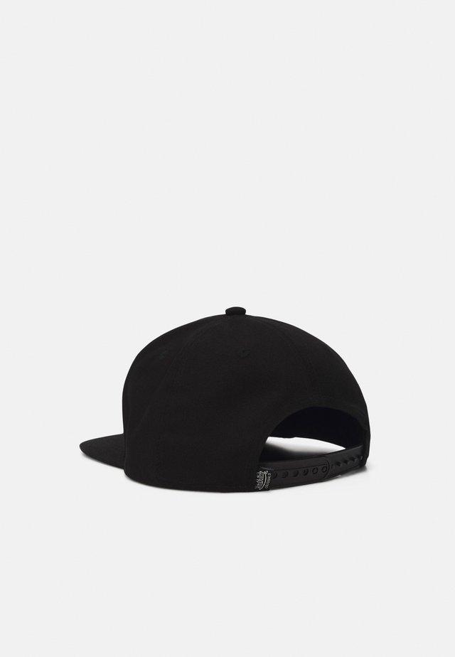 FLAT BILL UNISEX - Cappellino - black