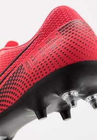 Nike Performance - VAPOR 13 ACADEMY SG-PRO AC - Screw-in stud football boots - laser crimson/black - 6
