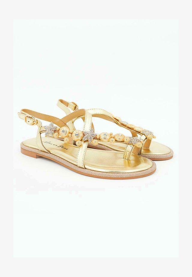 NIZA - Sandales - gold