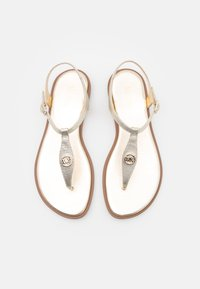 MICHAEL Michael Kors - MALLORY THONG - T-bar sandals - pale gold - 4
