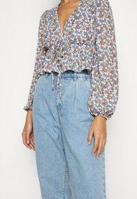 Fashion Union Petite - Blouse - blue - 5