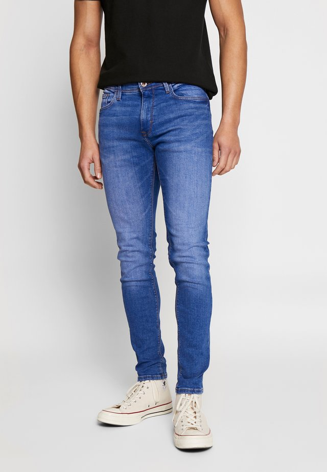 ROSKLUE 45 - Jeansy Slim Fit - blue