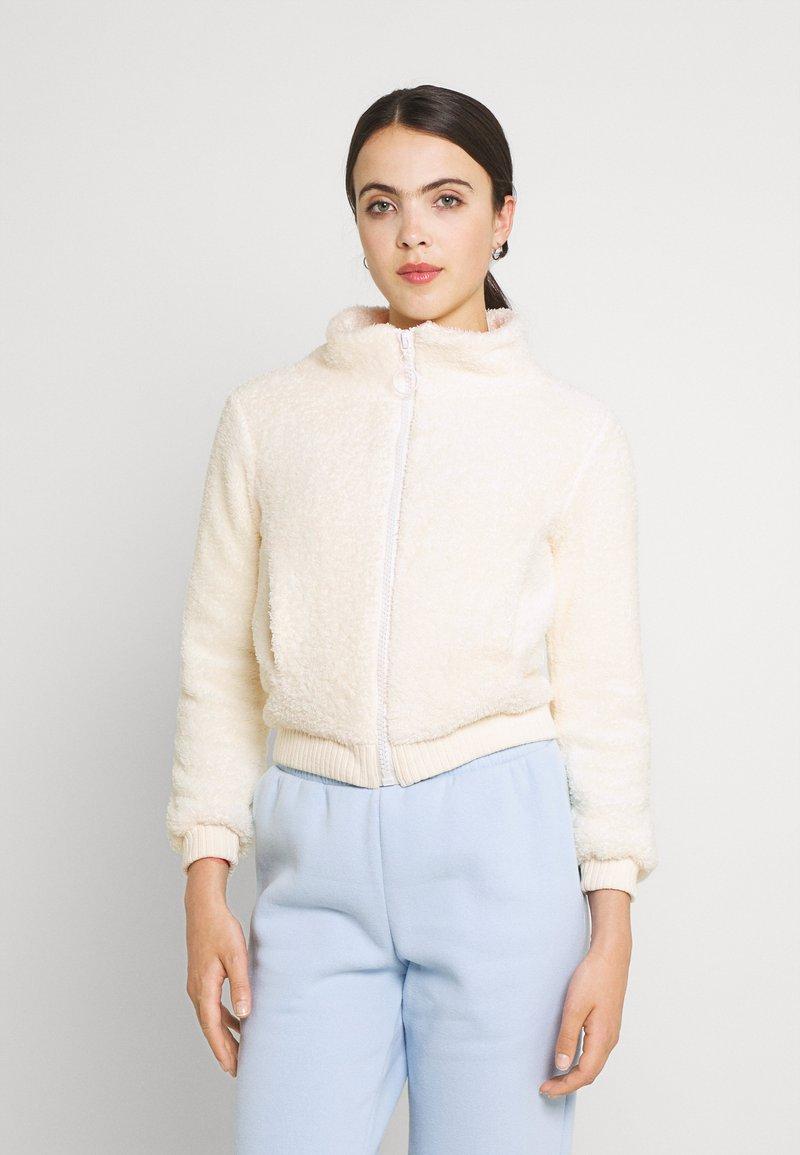 Trendyol - Summer jacket - ecru