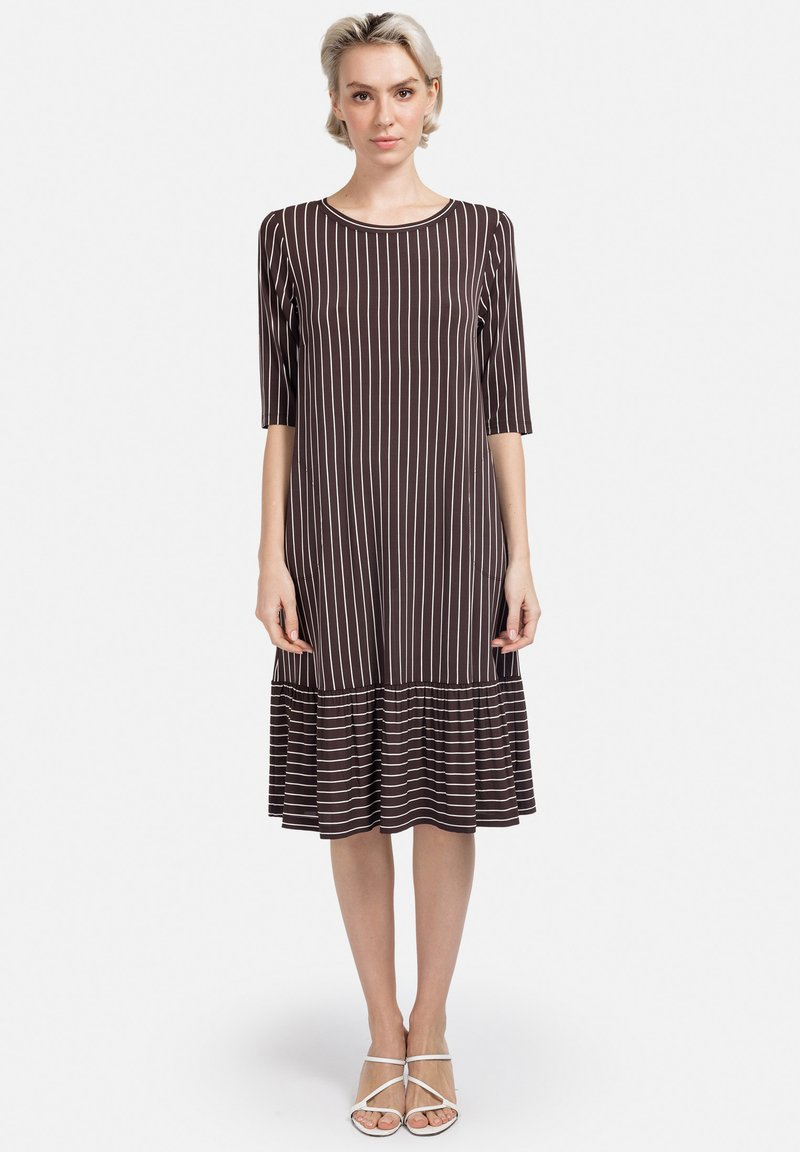 HELMIDGE - Day dress - braun