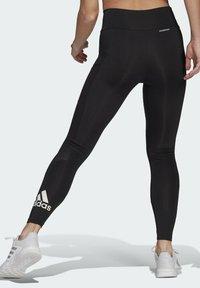 adidas Performance - DESIGNED TO MOVE BIG LOGO SPORT LEGGINGS - Collants - black - 2