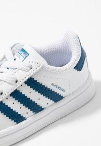 adidas Originals - SUPERSTAR - Trainers - footwear white/legend marine - 2
