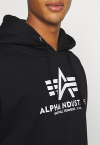 Alpha Industries - BASIC HOODY - Sweatshirt - black - 4