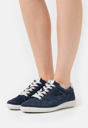 Sneakers laag - marine/argento