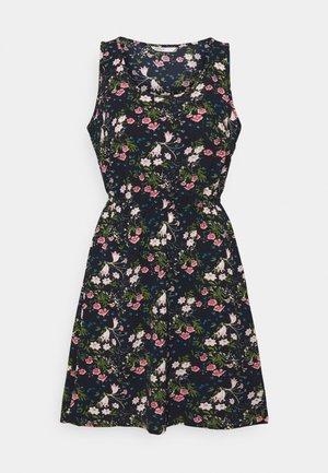 ONLNOVA SARA DRESS - Denní šaty - dark blue