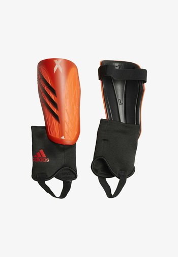 Shin pads - orange
