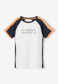 Name it - NKMFADEL - Print T-shirt - bright white - 2