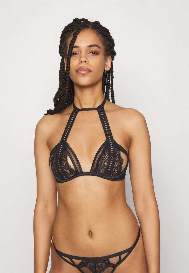 THE LOVE AFFAIR BRA - Kaarituelliset rintaliivit - black