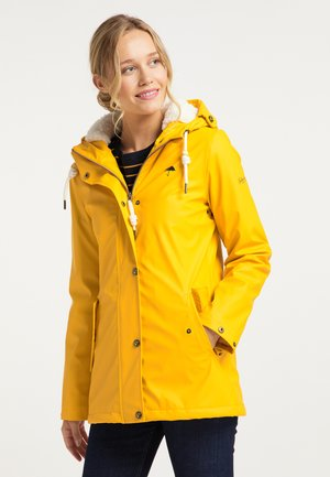Waterproof jacket - senf
