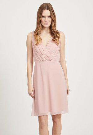 Sukienka letnia - pale mauve