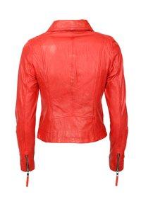 Mustang - Leren jas - flame red - 1