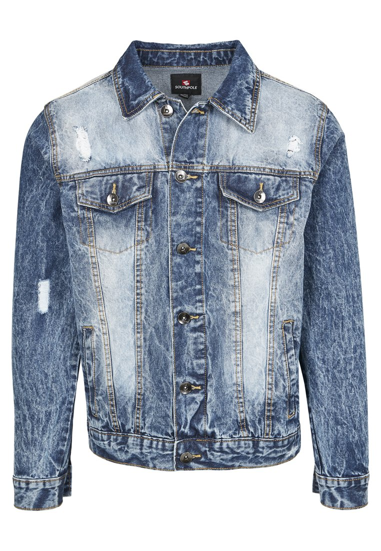 Uomo HERREN BASIC TRUCKER JACKET - Giacca di jeans