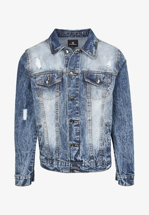 HERREN BASIC TRUCKER JACKET - Jeansjacka - sand blue