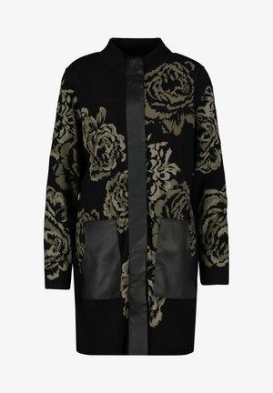 Short coat - schwarz gemuster