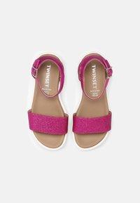 TWINSET - GLITTER - Sandals - fuchsia purple - 3