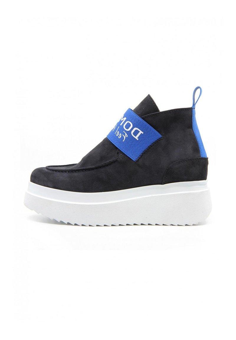 DOMBERS - GRAVITY - Boots à talons - dark blue
