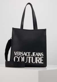 Versace Jeans Couture - MACRO LOGO - Sac à main - black - 0
