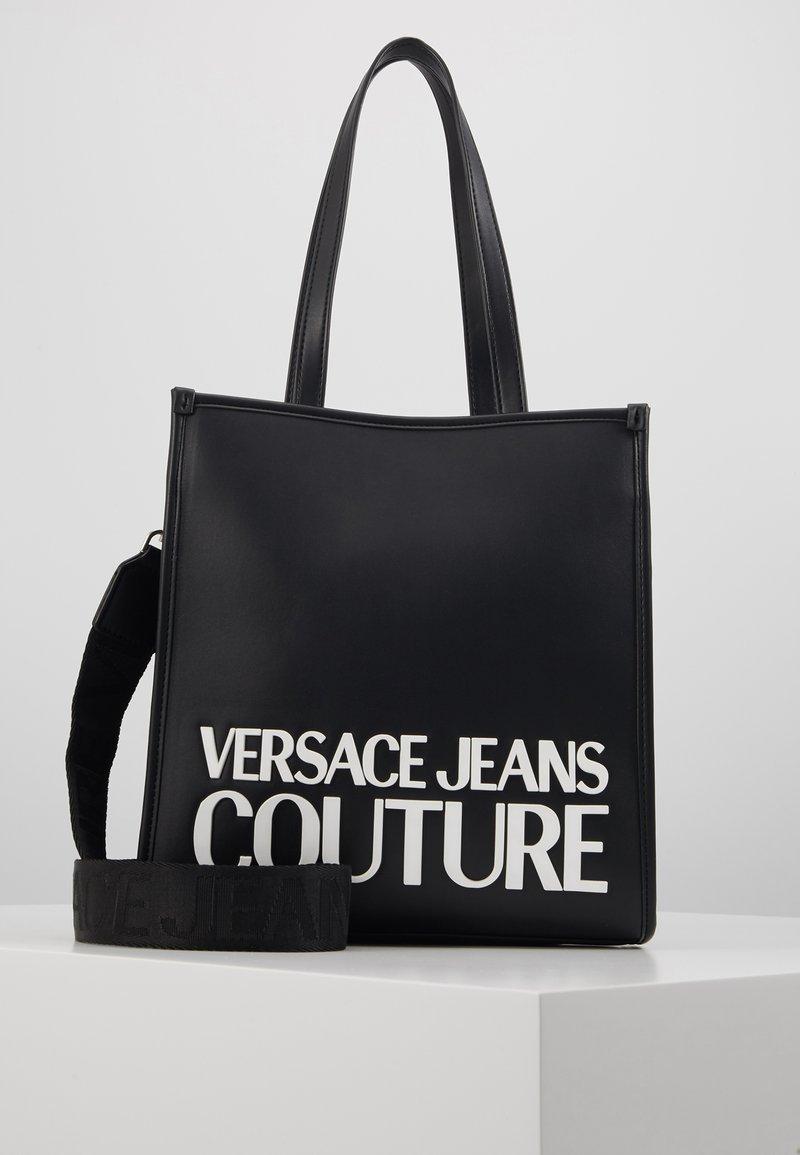 Versace Jeans Couture - MACRO LOGO - Sac à main - black