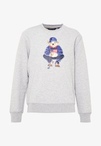 Polo Ralph Lauren Golf - BEAR LONG SLEEVE - Sweatshirt - grey heather - 3