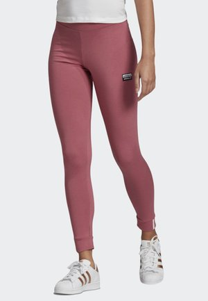 LEGGINGS - Leggings - Trousers - pink