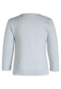Noppies - SOLY - Pitkähihainen paita - grey mint - 1