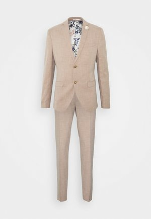WEDDING COLLECTION - SLIM FIT SUIT - Oblek - beige