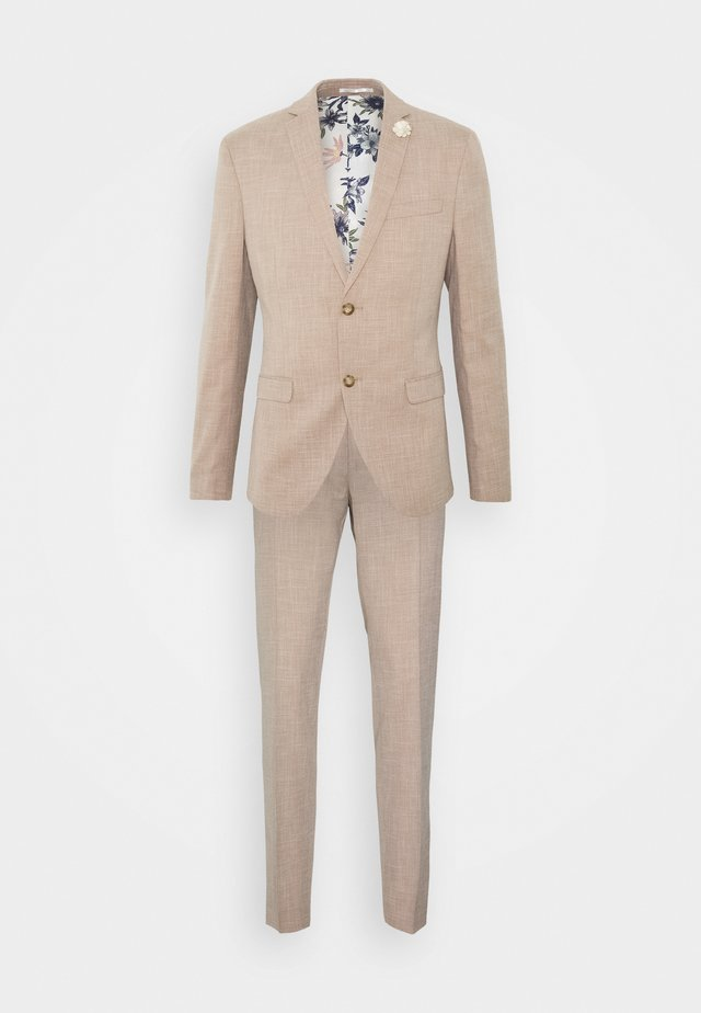 WEDDING COLLECTION - SLIM FIT SUIT - Completo - beige