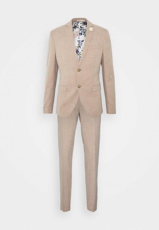 WEDDING COLLECTION - SLIM FIT SUIT - Dress - beige