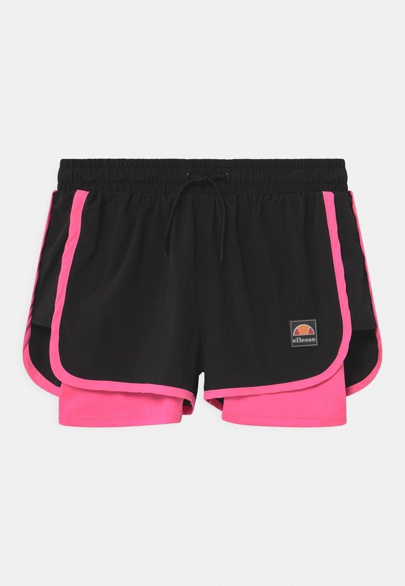 Ellesse - MAYLIA - Sports shorts - black/neon pink